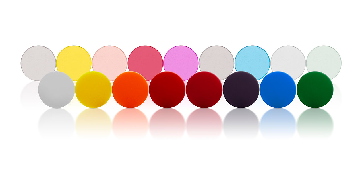 A wide range of biocompatible silicone additives to enhance silicone elastomers with color pigmenting, radiopacity or foam-like features