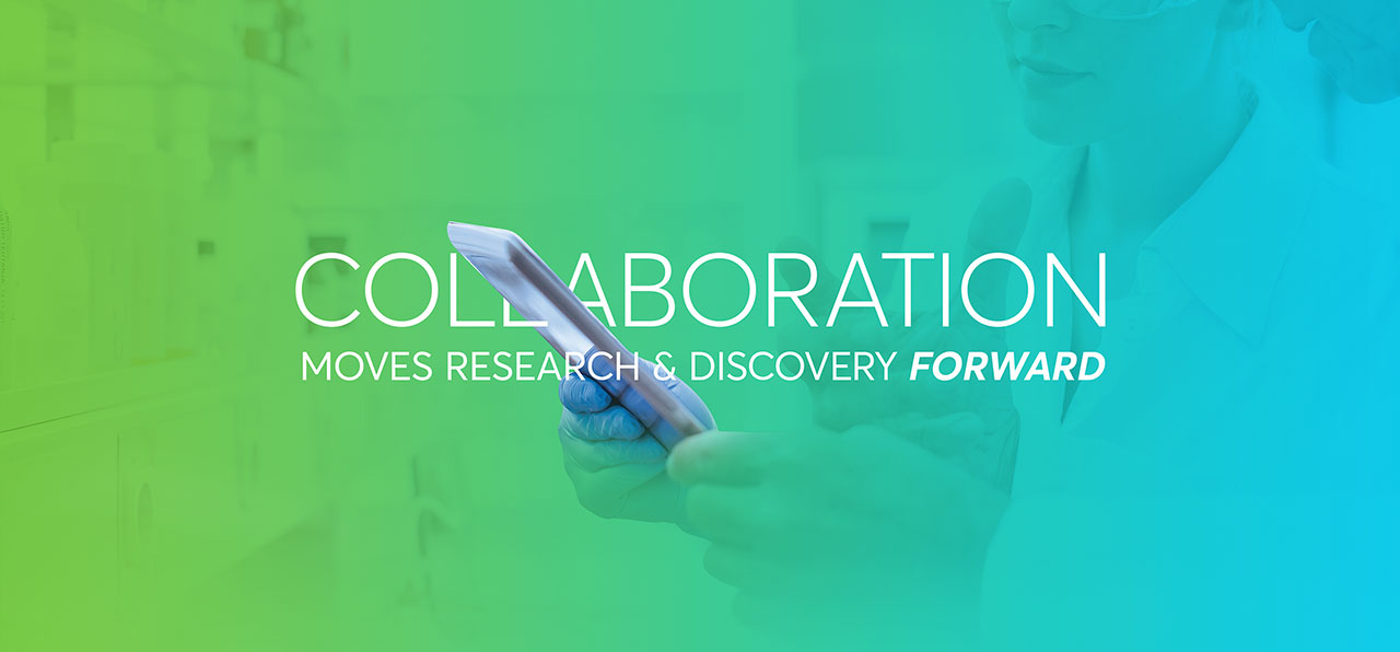 Collaboration moves research & discovery foward