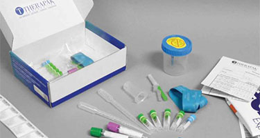 Clinical trial kit components
